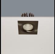 Artdelight Inbouwspot Venice DL 2508 - Mat Staal