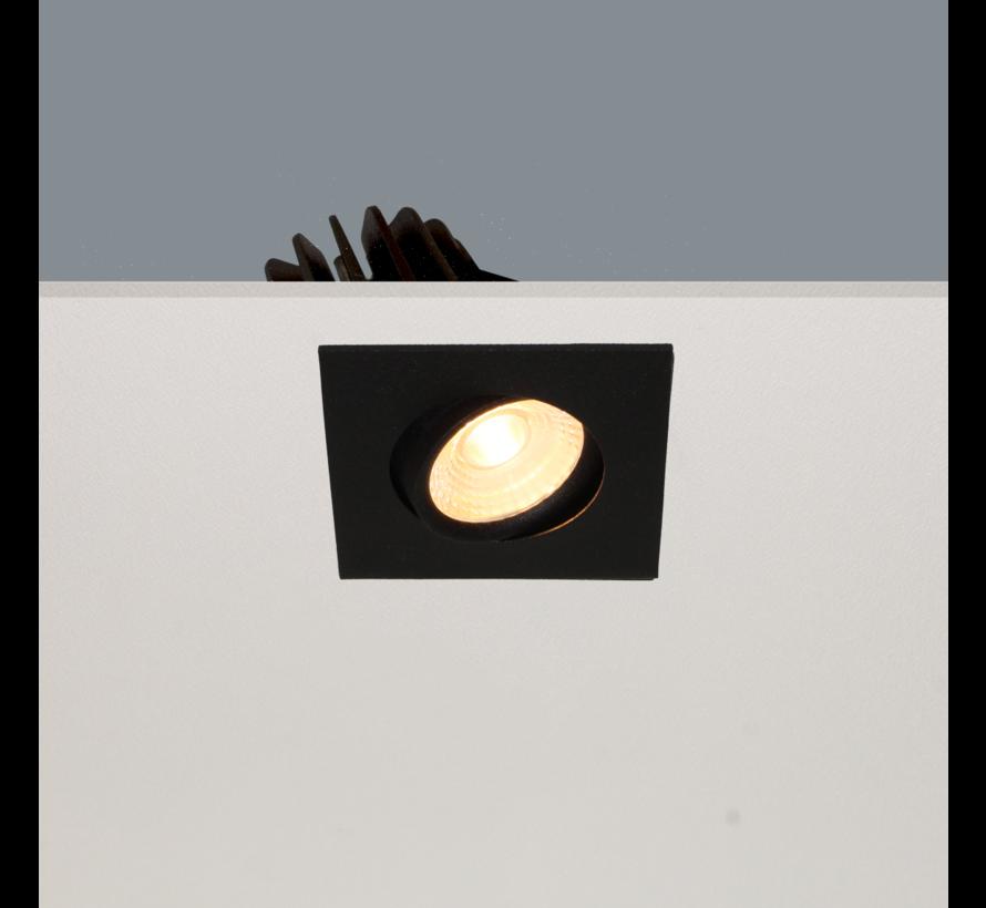 Inbouwspot Venice DL 2608 - Zwart