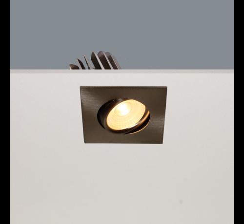 Artdelight Inbouwspot Venice DL 2608 - Mat Staal