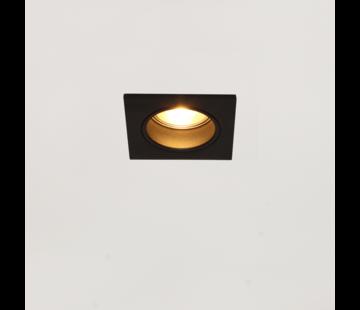 Artdelight Inbouwspot Venice DL 2708 GU10 - Zwart