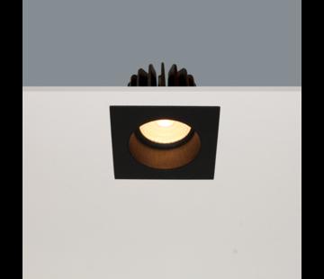 Artdelight Inbouwspot Venice DL 2708 - Zwart