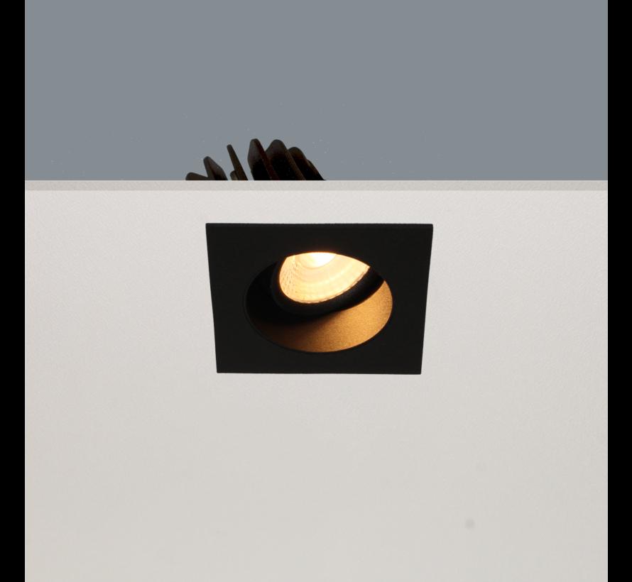Inbouwspot Venice DL 2808 - Zwart