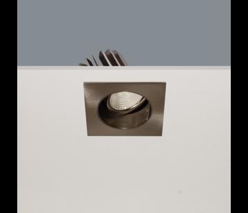 Artdelight Inbouwspot Venice DL 2808 - Mat Staal