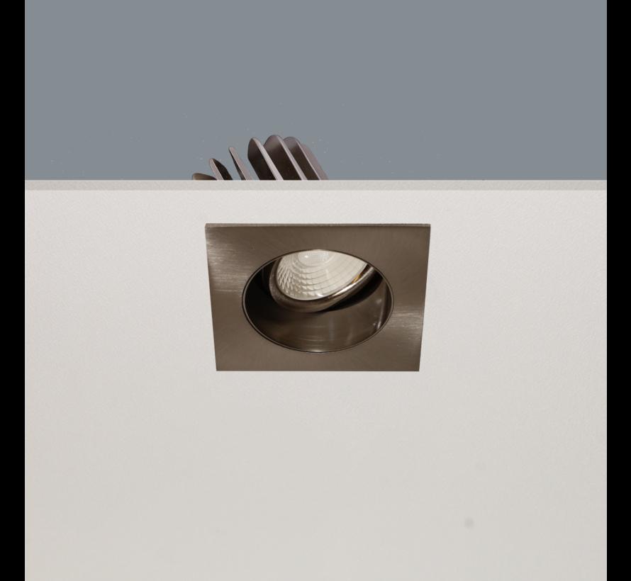 Inbouwspot Venice DL 2808 - Mat Staal