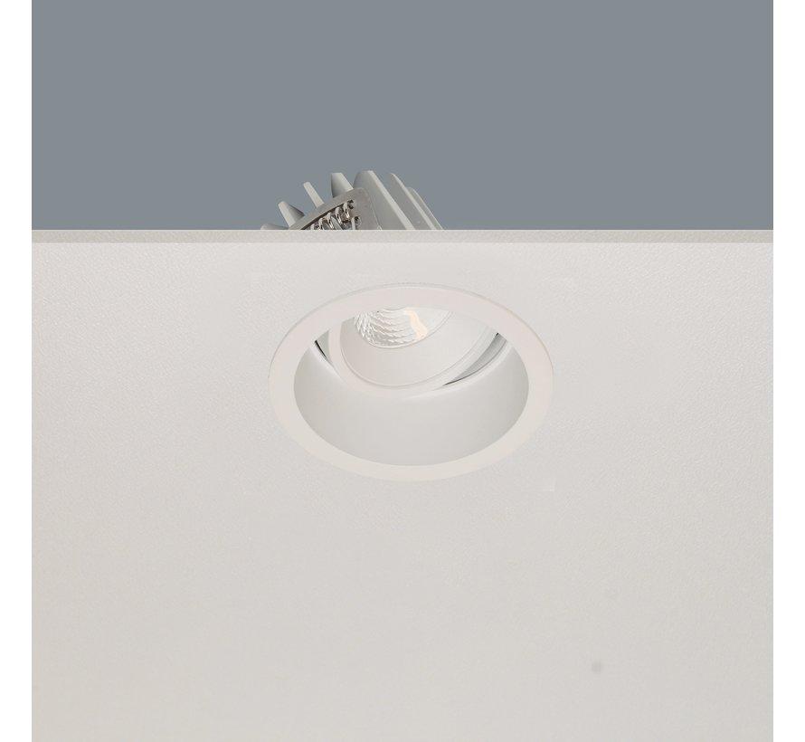 Inbouwspot Ribs - Wit