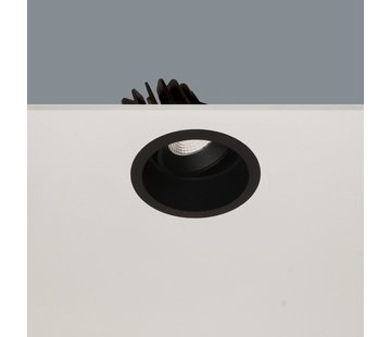 Artdelight Inbouwspot Ribs - Zwart