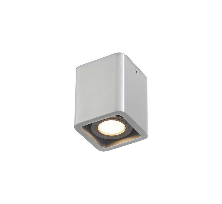 Plafondlamp Bronx 1L - Aluminium