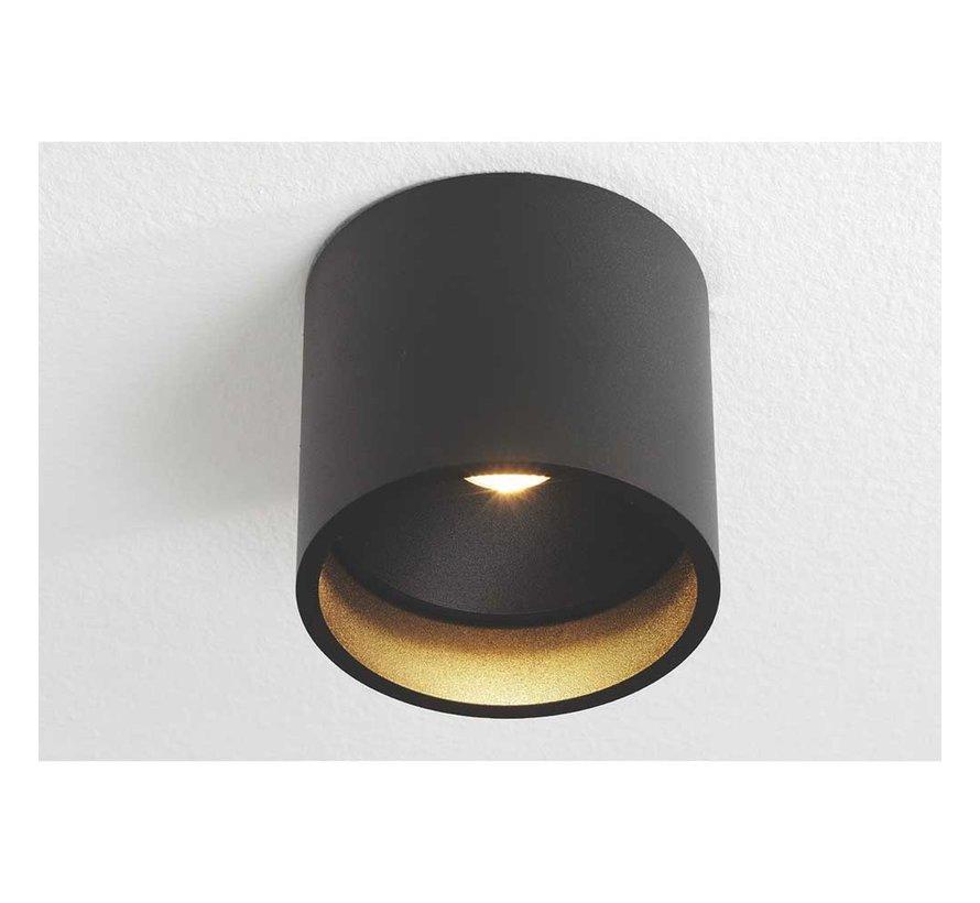 Plafondlamp Ormond - Zwart