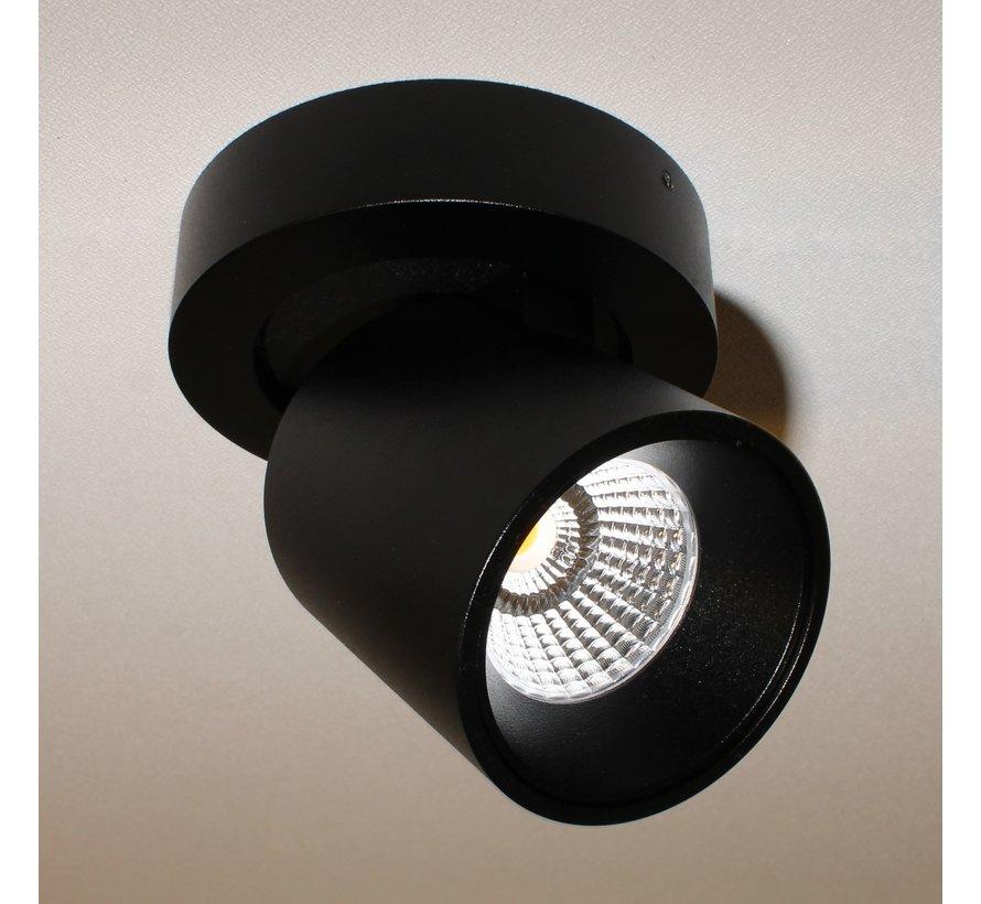 Plafondlamp Laguna 1L Rond - Zwart