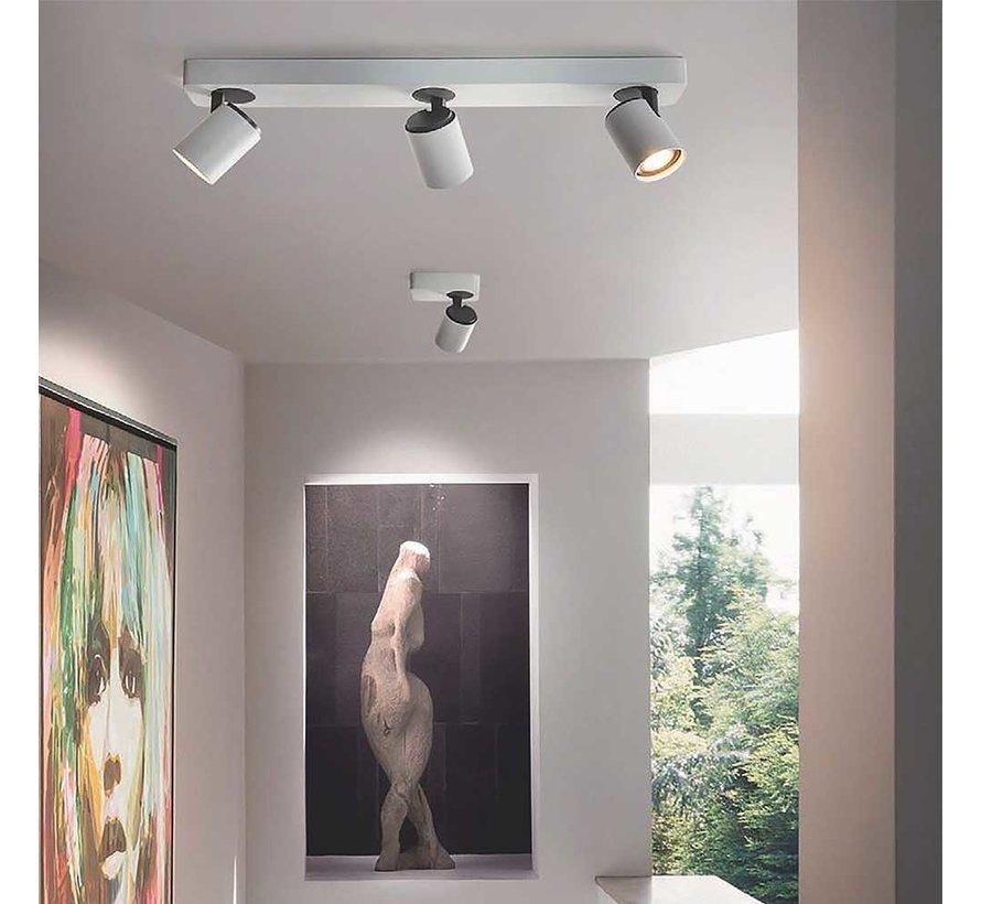 Plafondlamp Vivaro 3L - Wit