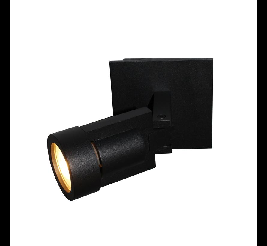 Plafondlamp Tech 1L - Zwart