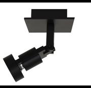 Artdelight Plafondlamp Tech 1L - Zwart