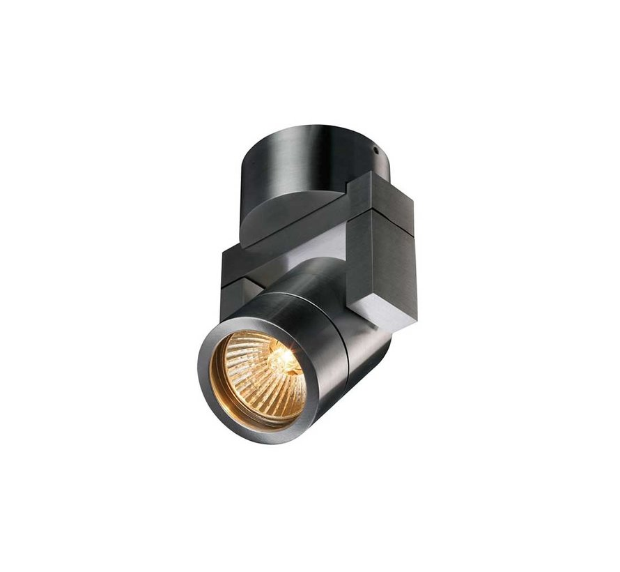 Wandlamp Single - Aluminium