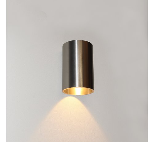 Artdelight Wandlamp Brody 1 - Aluminium
