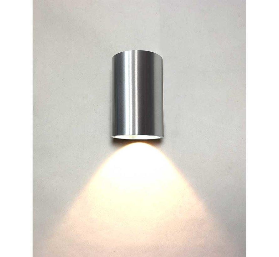 Wandlamp Brody 1 - Aluminium