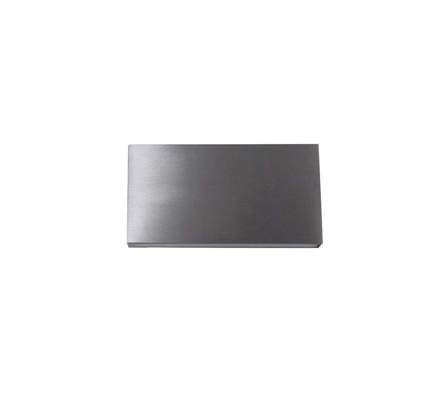 Wandlamp Box - Aluminium