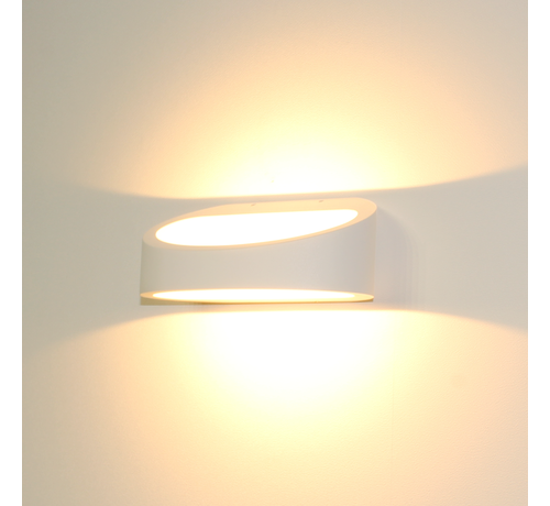 Artdelight Wandlamp Brace - Wit