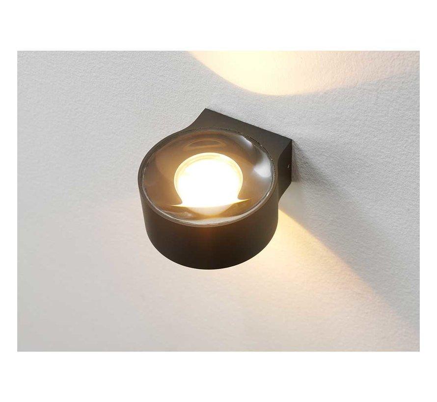 Wandlamp Hudson - Antraciet