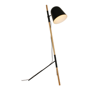 Artdelight Vloerlamp Sensa - Zwart