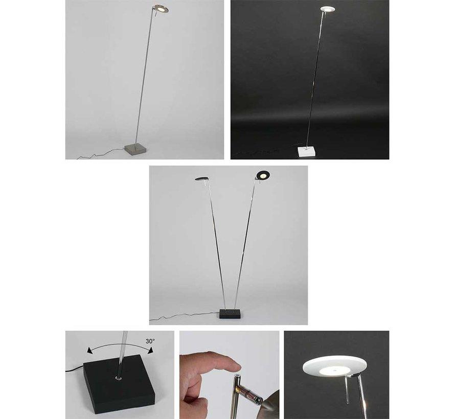 Vloerlamp Balano - Mat Staal