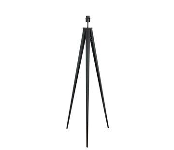 Artdelight Vloerlamp Triad - Zwart