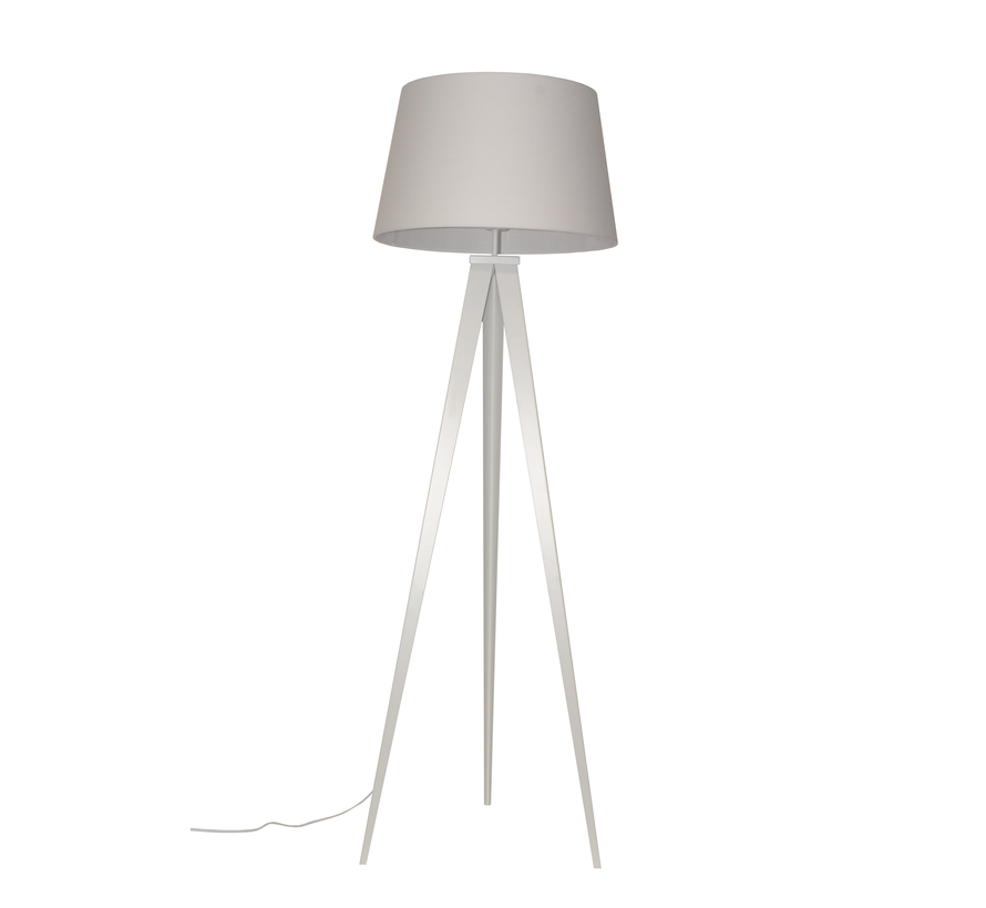 Vloerlamp Triad - Wit