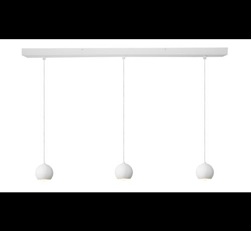 Artdelight Hanglamp Denver 3L - Wit