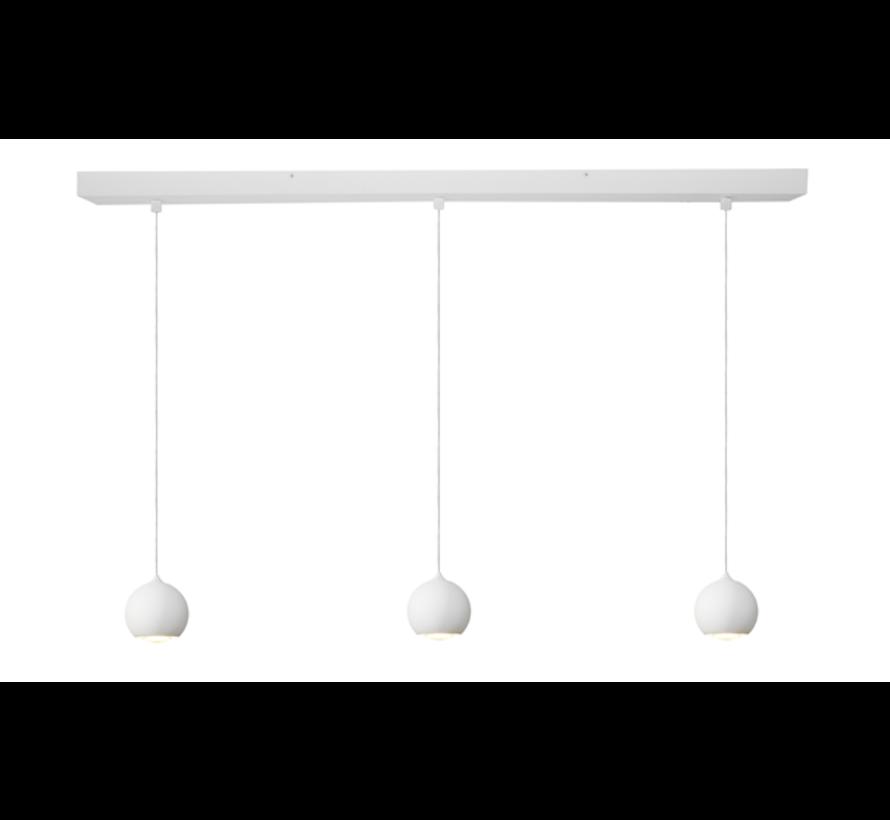 Hanglamp Denver 3L - Wit