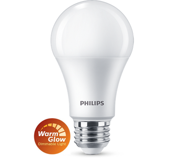 Philips E27 Led 8,5W 2200-2700K 806lm - Dim to Warm