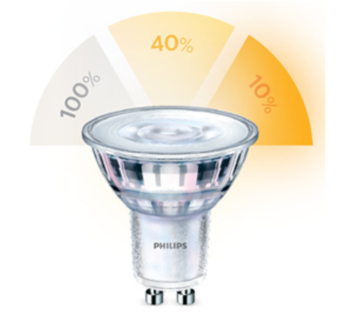 Philips Philips - GU10 Led 5W 2700-2500-2200K 345lm - SceneSwitch