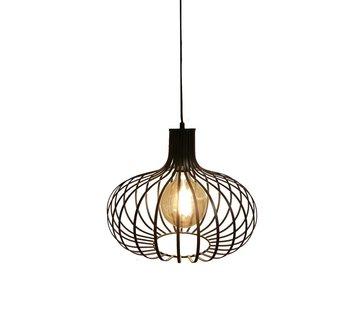 Artdelight Hanglamp Lauren - Zwart