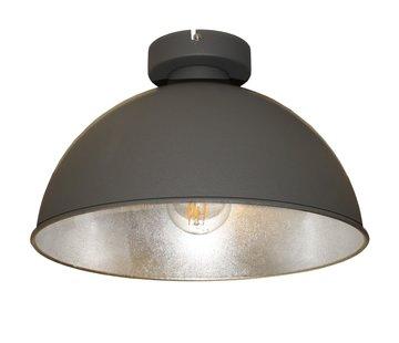 Artdelight Plafondlamp Curve - Grijs/Zilver