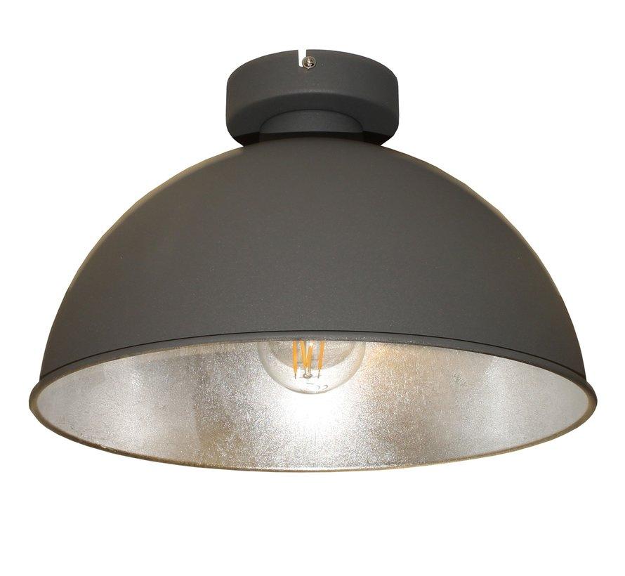 Plafondlamp Curve - Grijs/Zilver