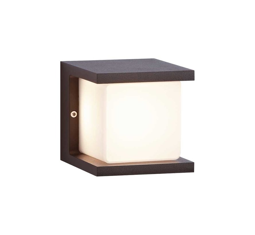 Wandlamp Iserlohn - Antraciet