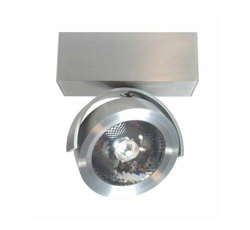 Artdelight Plafondlamp Dutchess LED 1L - Aluminium