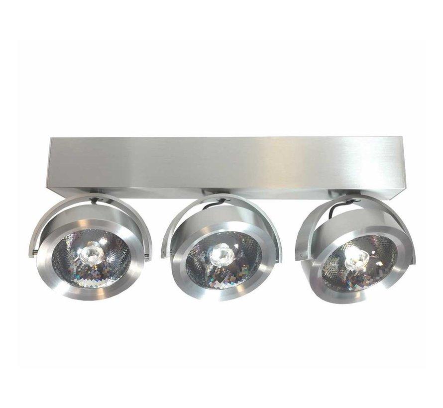 Plafondlamp Dutchess LED 3L - Aluminium