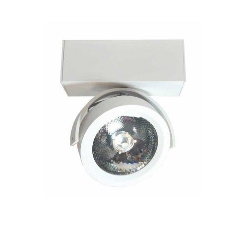 Artdelight Plafondlamp Dutchess LED 1L - Wit