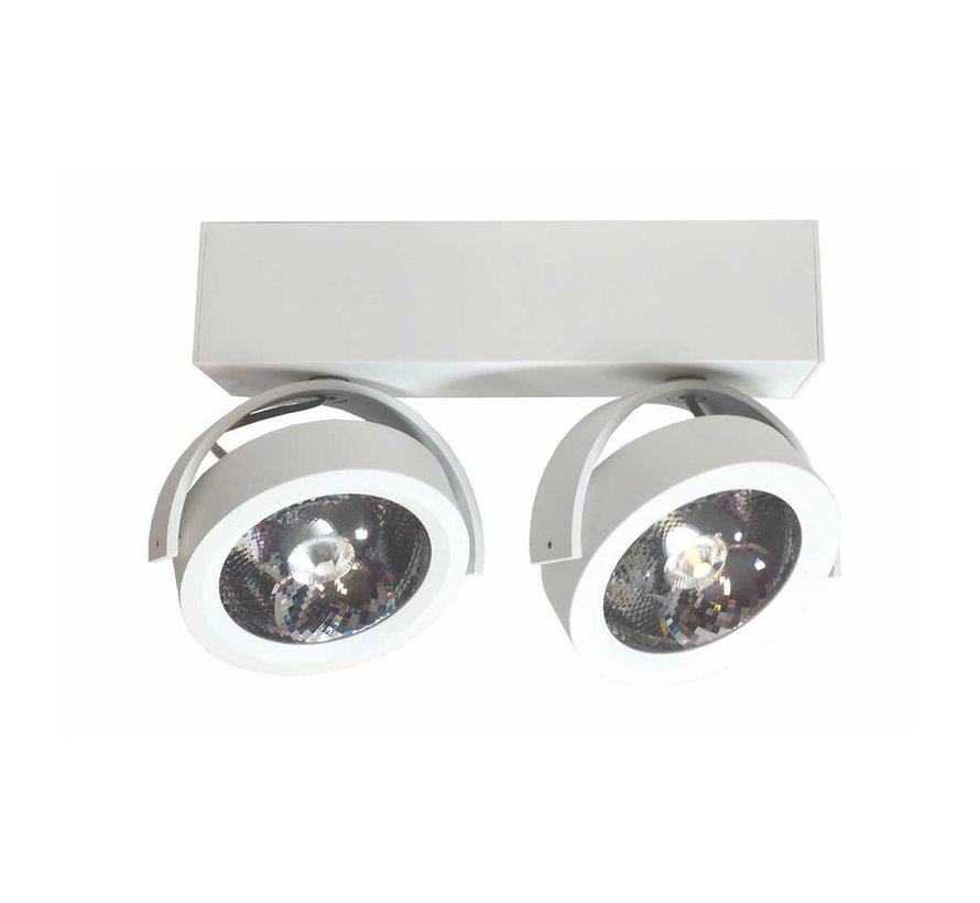 Plafondlamp Dutchess LED 2L - Wit