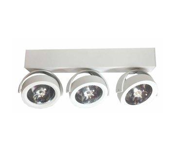 Artdelight Plafondlamp Dutchess LED 3L -Wit