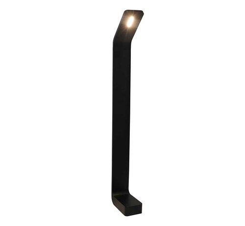 Artdelight Buitenlamp Koloa 80cm - Zwart