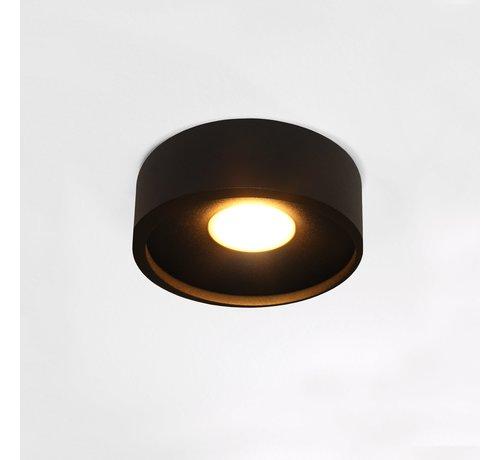 Artdelight Plafondlamp Orlando - Zwart