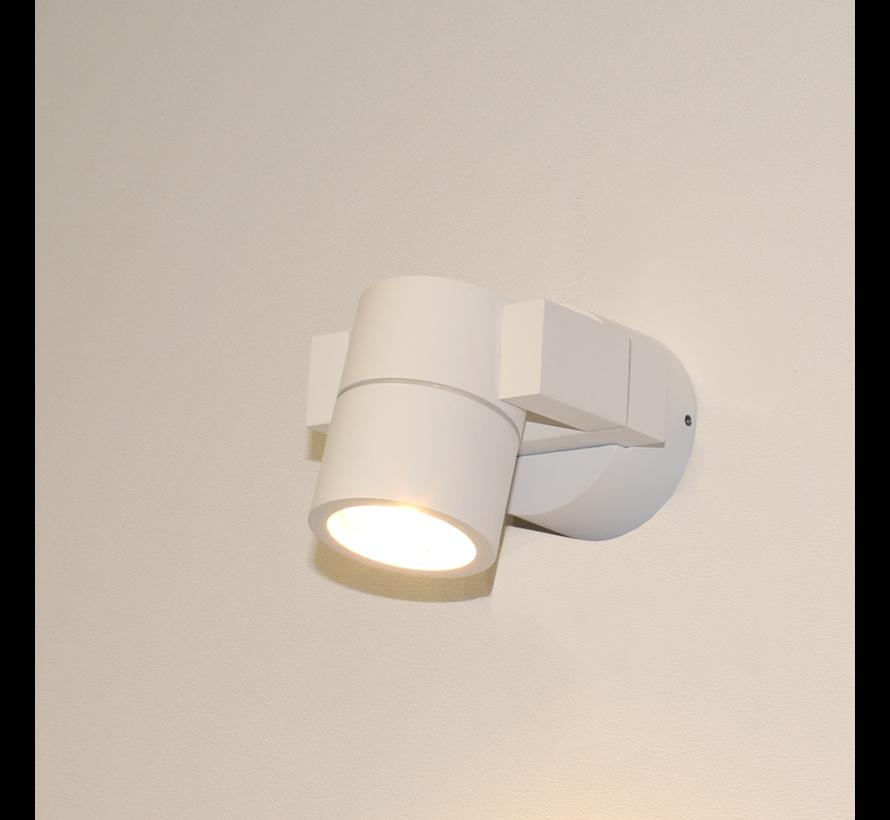 Wandlamp Single - Wit