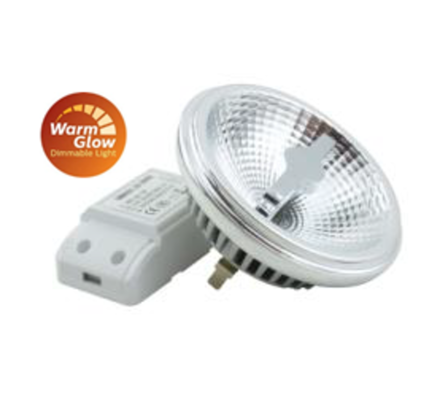 Plafondlamp Dutchess 1L - Wit - Dim to Warm