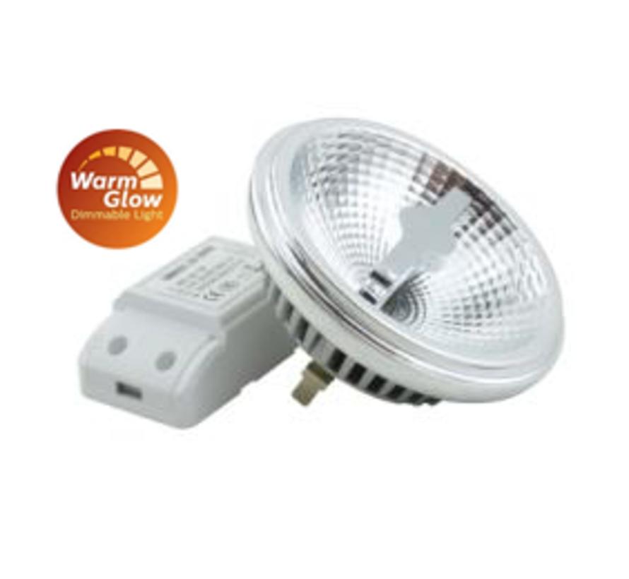 Plafondlamp Dutchess 4L - Wit - Dim to Warm