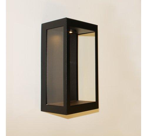 Artdelight Wandlamp Rowin Led - Zwart