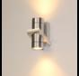 Wandlamp Double - Aluminium