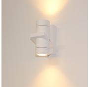 Artdelight Wandlamp Double - Wit