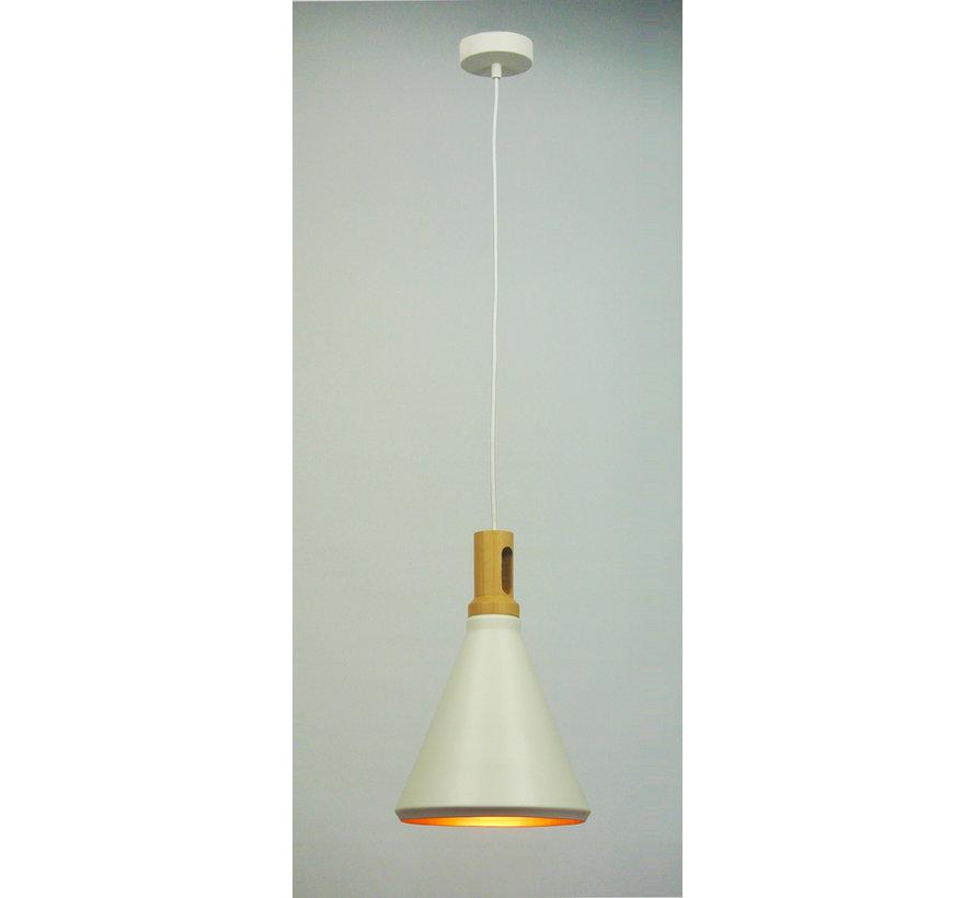 Hanglamp Cornet A - Wit