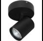 Plafondlamp Vivaro 1L Rond - Zwart
