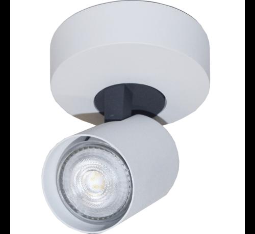 Artdelight Plafondlamp Vivaro 1L Rond - Wit